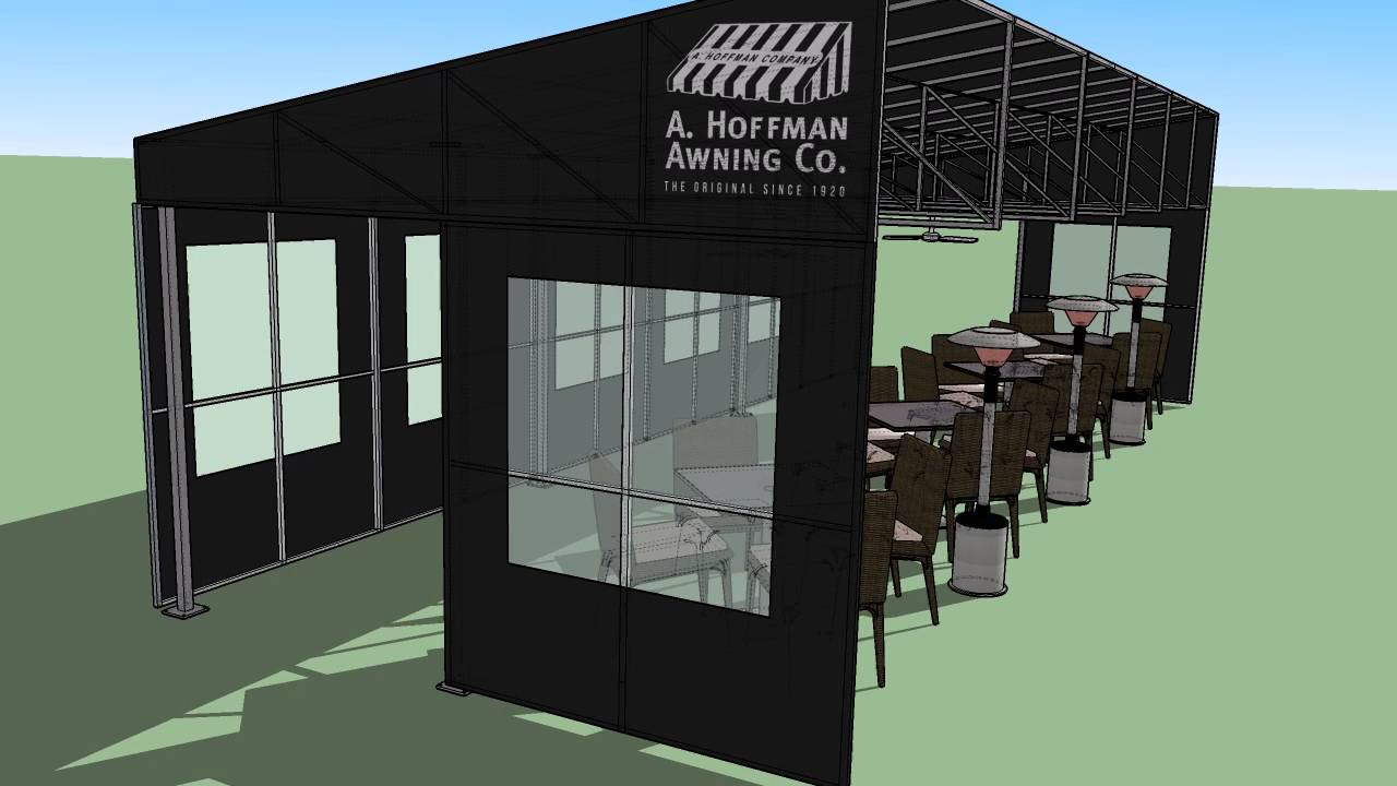 Restaurant Awnings Increase Your Seating Capacity A Hoffman