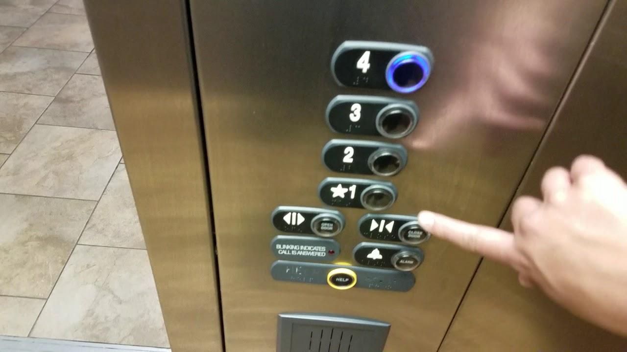 Thyssenkrupp Signa4 Hydraulic Elevator   Holiday Inn