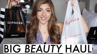 BIG NYC BEAUTY HAUL! Sephora & Drugstore | Amelia Liana