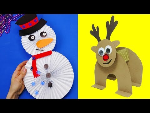 36 diy christmas | Christmas crafts for kids | 5 minute crafts christmas