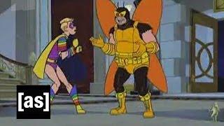 Wonder Boy Fights the Monarch   The Venture Bros.   Adult Swim