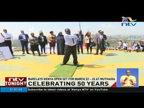 Kenya Open celebrates its fiftieth anniversary