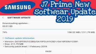 J7 prime update