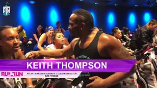Keith Thompson in PDX - Celebrity Cycle Instructor