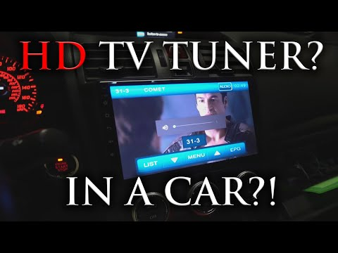TV In A CAR?! | Android Head Unit