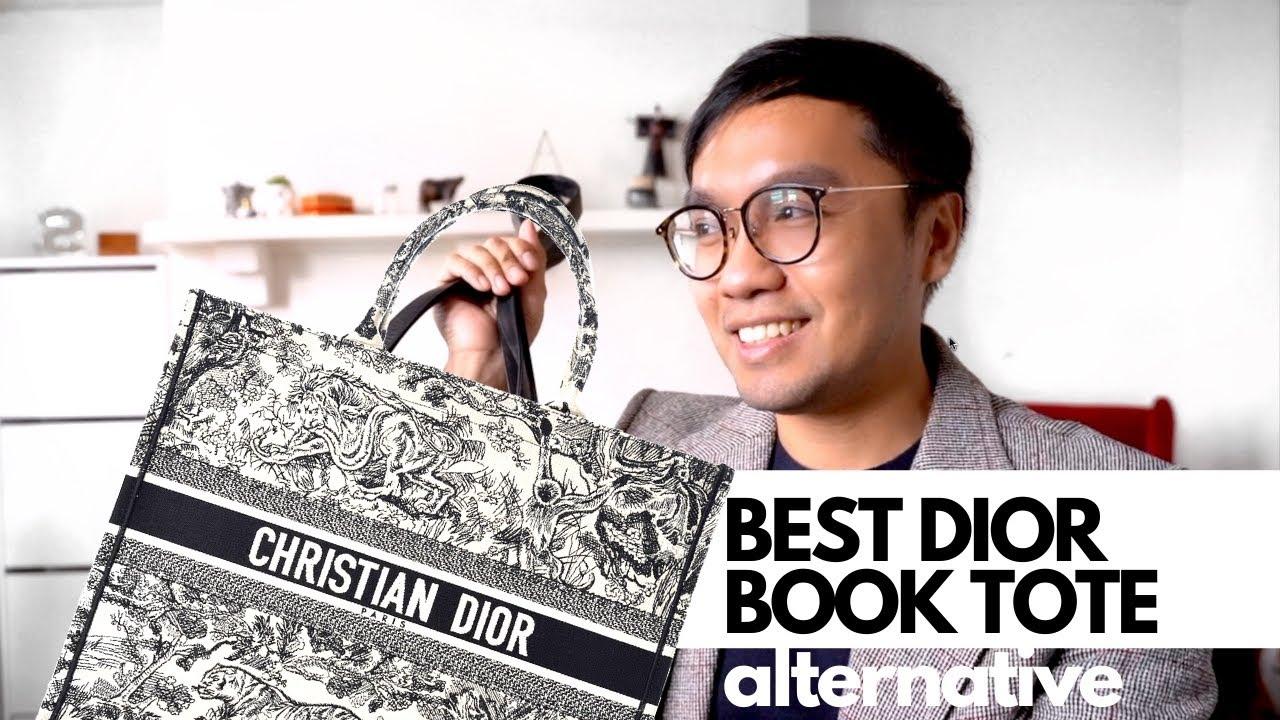 BEST DIOR BOOK TOTE ALTERNATIVE   DIOR UNBOXING 😱😱😱