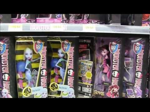 MH Roller Maze Clawdeen & Abbey Deuce Catrine Demew Found In Walmart Canada!!! :D
