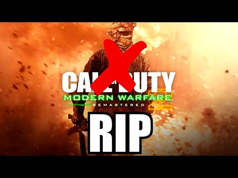 MODERN WARFARE 2 REMASTERED... Will NOT SAVE Call Of Duty (we Have A Problem)