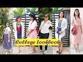 How to style Dresses for College || College Lookbook || Chhavi's Gallery