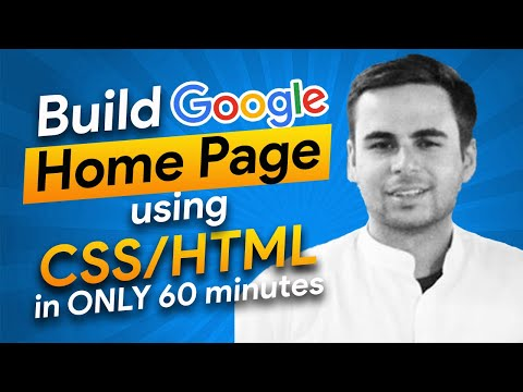Replicate the Google Homepage in 60 minutes - HTML, CSS, BEM