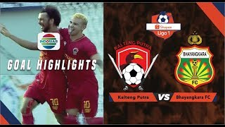 Kalteng Putra (3) vs (2) Bhayangkara FC - Goal Highlights | Shopee Liga 1