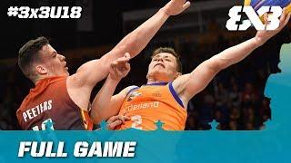 Netherlands vs Belgium | Full Game | FIBA 3x3 U18 Europe Cup 2017
