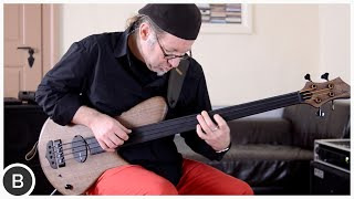 FRANZ BASSGUITARS SIRIUS 4 FRETLESS BASS - RALF GAUCK | BassTheWorld.com