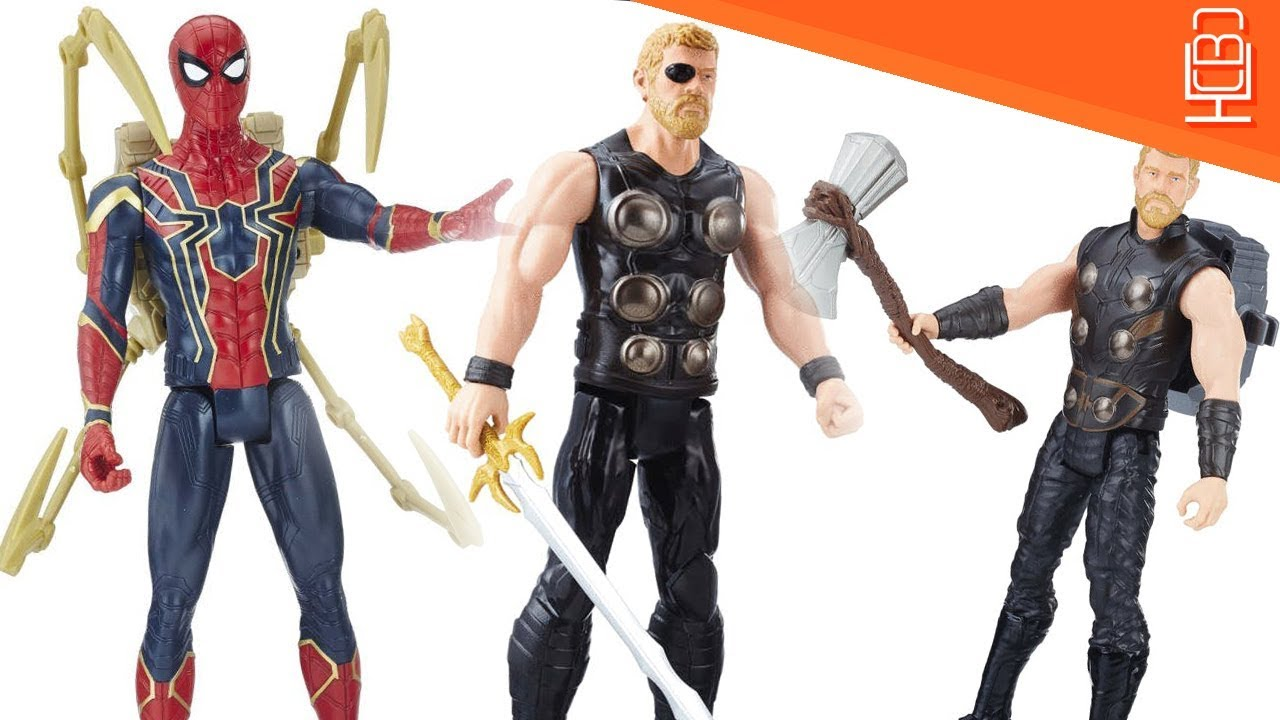 thor has sword new hammer iron spider revealed avengers infinity