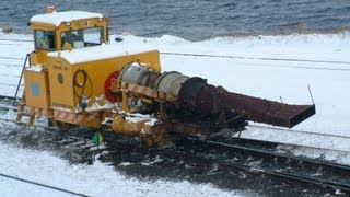 CN Jet Snow Blowers in use in the Halifax NS area thumbnail