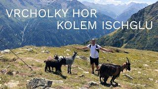 🇦🇹 Vrcholky hor kolem Ischglu (Tyrolsko)