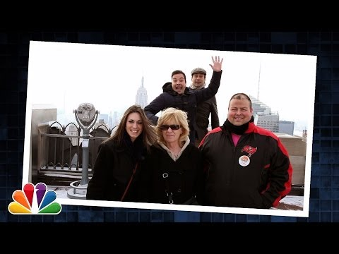 """Tonight Show Celebrity Photobomb"" with Jimmy Fallon & Jon Hamm"