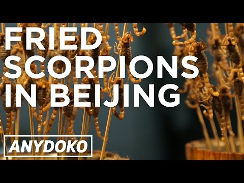 The Best Snack Food in Beijing - Featuring Fried Scorpions and Jian Bing!