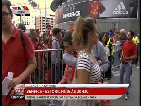 Lagoa do Grou e Cumeada na BenficaTV