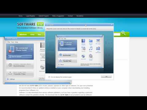 LG PC Suite 3 - Download, Install And Use