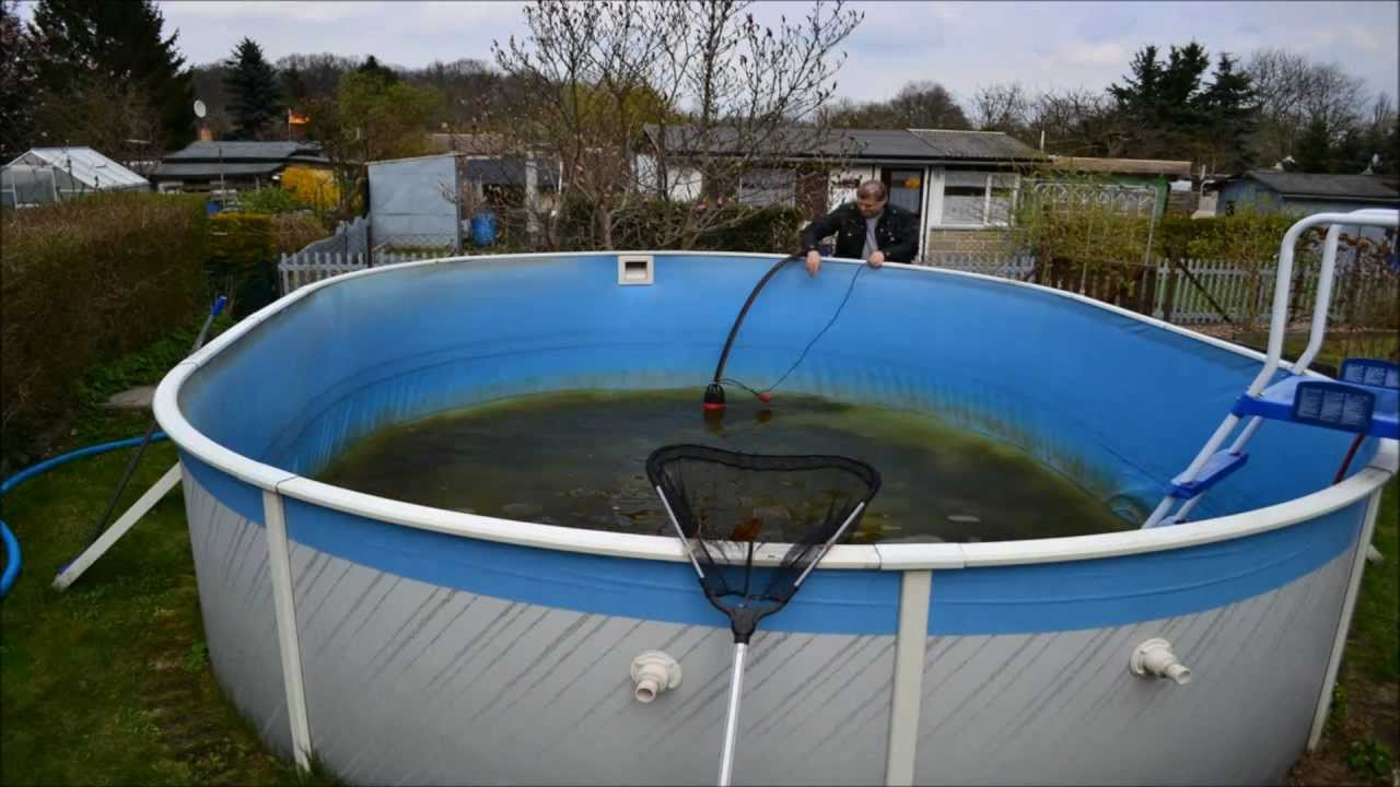 Goodbye pool zeitraffer timelapse youtube - Swimmingpool aus paletten ...