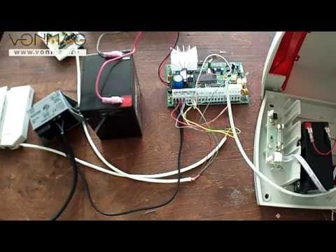 Tutorial conectare componente sistem de alarma (KIT DSC 585 SIR, detector PYR-4122)