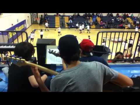 Standing rock high school pep band