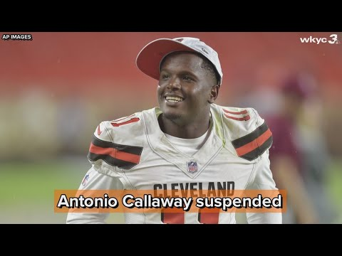 Browns WR Antonio Callaway suspended 4 games by NFL for substance abuse violation