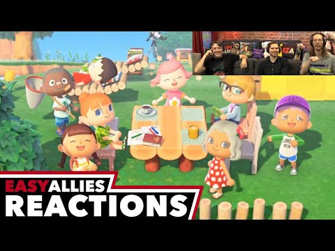 Animal Crossing Direct, Feb 2020 - Easy Allies Reactions