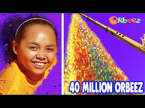 Thumbnail: 40 MILLION ORBEEZ 100FT DROP TEST! Toys AndMe