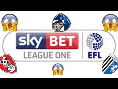 EFL League One Table Prediction 😮
