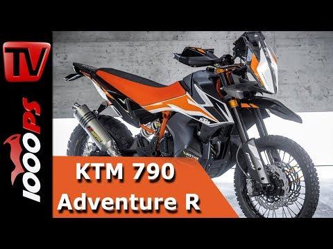 KTM 790 Adventure R Concept 2018 - Soundcheck - Ab wann erhältlich? - Technische Daten - Infos