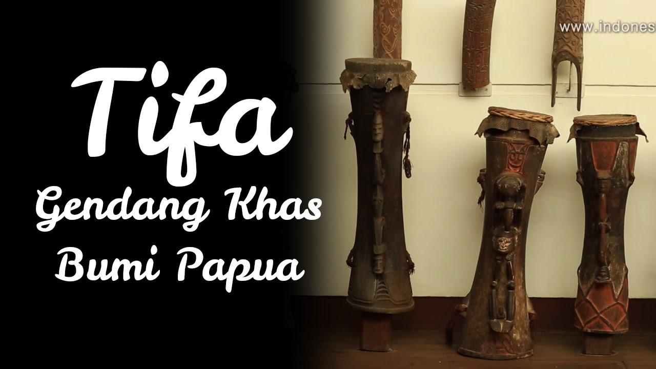 Tifa Gendang Khas Bumi Papua Youtube