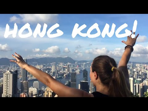 TRIP to HONG KONG - VICTORIA PEAK, DIM SUM, and LIGHT SHOW - Day 1 - VLOG