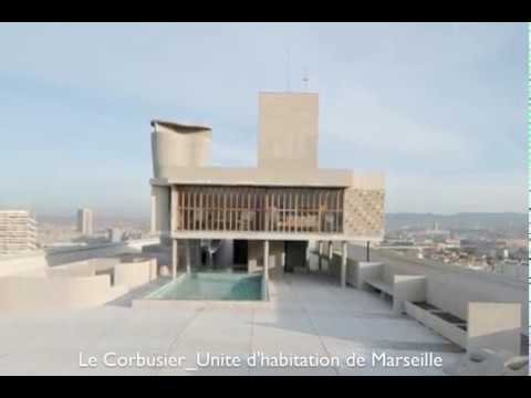 Le corbusier unite d 39 habitation de marseille youtube - Toulousaine d habitation ...