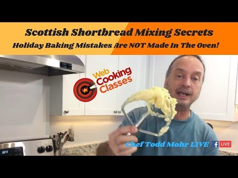 Scottish Shortbread Mixing Secrets