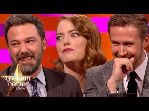 Ryan Gosling, Emma Stone & Ben Affleck Tell Embarrassing Mum Stories  The Graham Norton