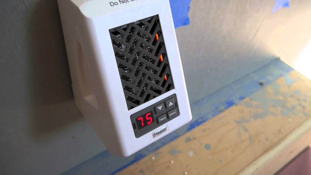 Iheater Infrared Wall Heater For A Tiny House Cabin