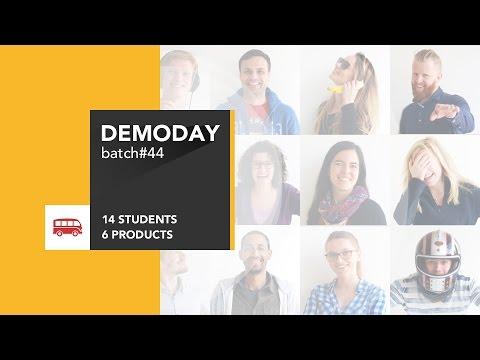 Coding Bootcamp Barcelona | Le Wagon Demo Day - Batch #44