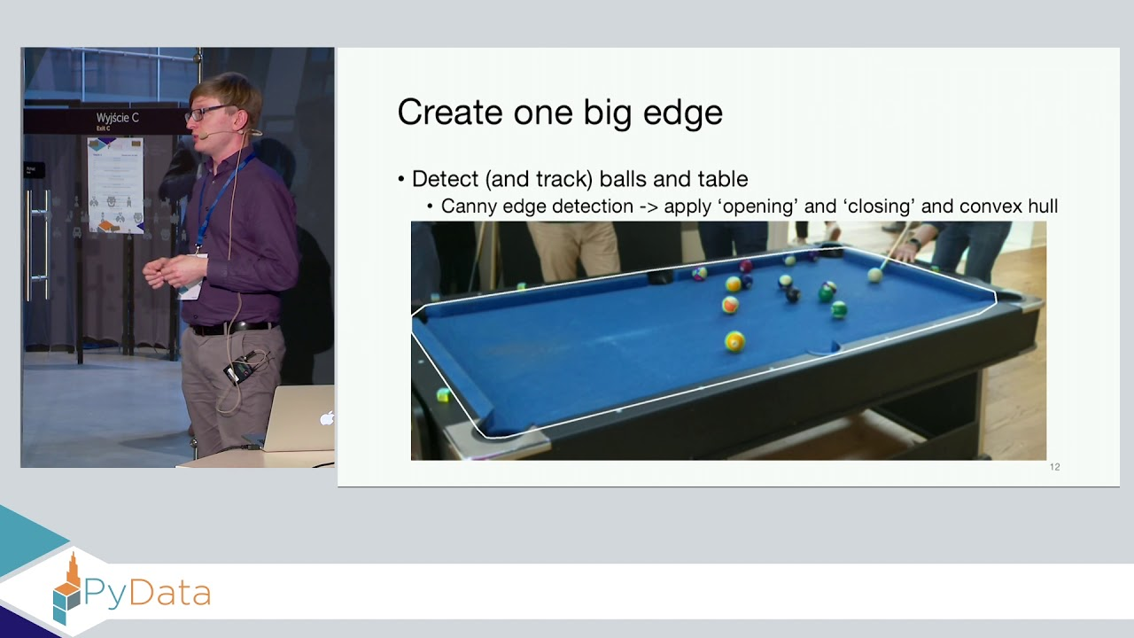 Image from How I learnt computer vision by playing pool - Łukasz Kopeć