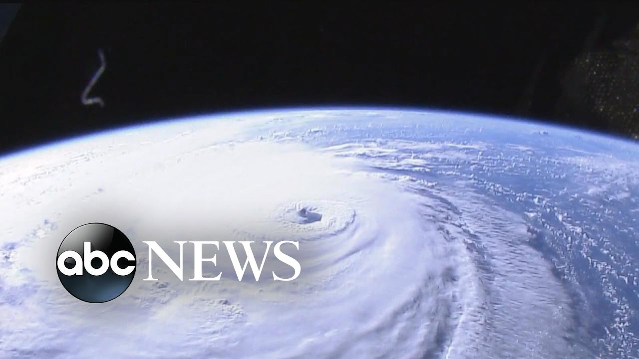 Hurricane Florence viewed from space