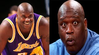 Shaquille O'Neal FUNNY MOMENTS
