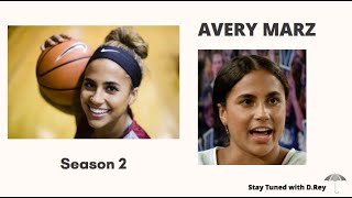 Gambar cover AVERY MARZ, ST.JOE'S WOMEN BASKETBALL on Stay Tuned with D.Rey