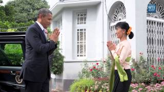 On Board With President Obama - Rangoon, Burma