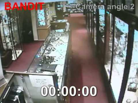 Fog Bandit - security fog NOT security smoke - Jewellers Robbery LIVE CCTV