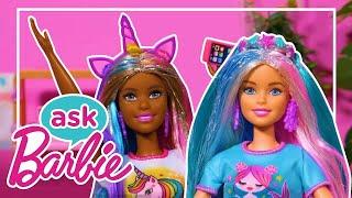 Demande à Barbie : Questions sur les routines mode avec les POUPÉES COLOR REVEAL en invitées!