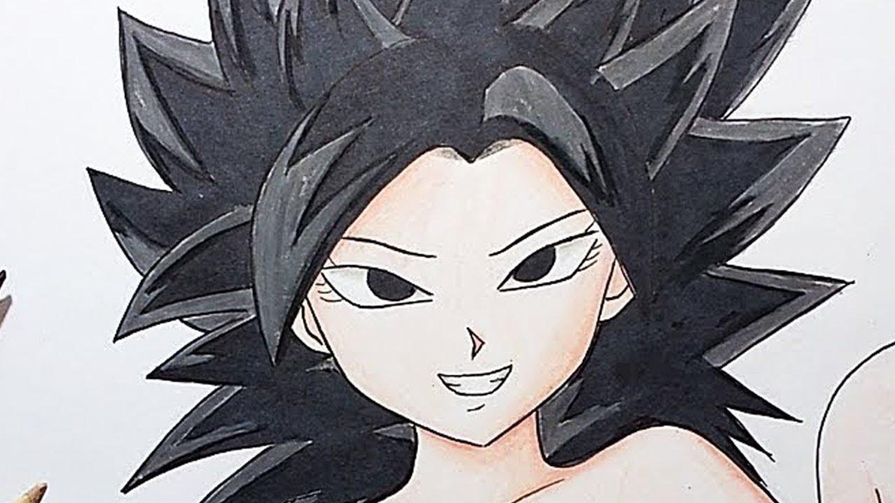 Como dibujar a Caulifla (Dragon Ball Super) | How to draw Caulifla #1