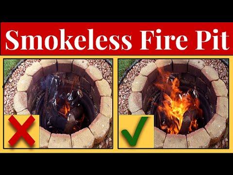 🔥Adding A Bilge Blower To Fire Pit To Stoke Flames & Reduce Smoke