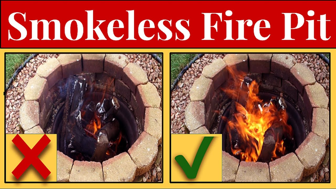 Adding A Bilge Blower To Fire Pit To Stoke Flames Reduce Smoke Youtube