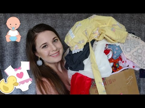 MASSIVE BABY CLOTHES HAUL!   Vintage Kid's Clothing   Reselling On Poshmark